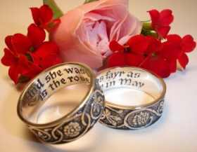 Ideas for a Shakespearean Themed Wedding